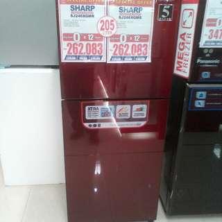 Cicilan kulkas tanpa kartu kredit proses cepat 3 menit lg promo 0%