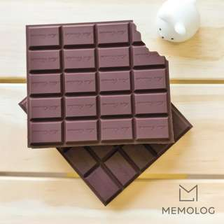 Chocolate Memo Pad Notebook