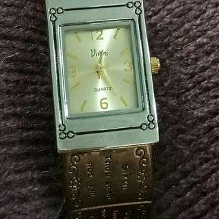 3-tone cuff watch(10 commandments)
