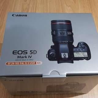 Canon 5D mark iv kit + freebie