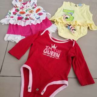 Baby girl's set