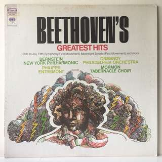Beethoven – Beethoven's Greatest Hits (1972 USA Pressing - Vinyl is Mint)