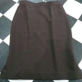 Rok span kerja skirt size M
