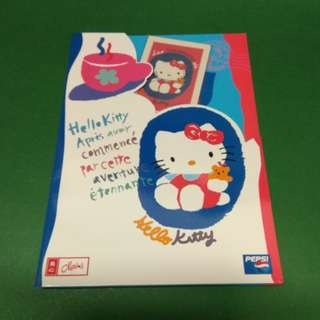 PEPSI 美心 Hello Kitty 密密傾 電話卡二