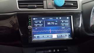Double din mp5 player for perodua bezza
