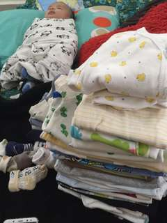 More than 30 baby boy clothes