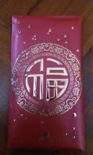 Swaroviski 鑲石紅色禮封