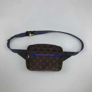 LV Supreme Leather Waist Bag