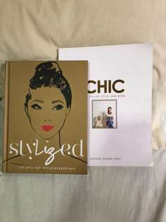 Local Fashion Books lot of 2