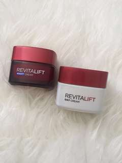 L'oreal revitalift day & night cream for two 100k