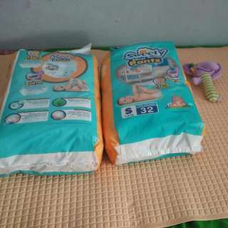 Sweety Silver Pants Popok Pempers Diapers
