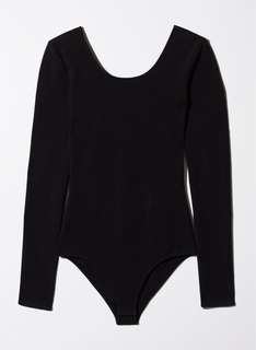 ARITZIA BLACK koopman body suit