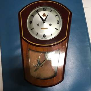 555 old wall clock