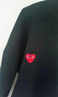 🌹Commes Des Garcons black jumper