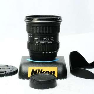 TOKINA AT-X PRO SD 11-16 F2.8 Nikon (SHIP FROM JAPAN)