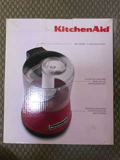 KitchenAid speedy chopper