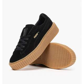 Fenty Black Gum Sole Creepers