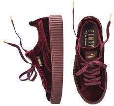 Fenty Red Velvet Creepers