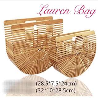 Lauren Bamboo Ark Bag