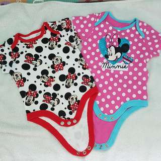 Minnie baby rompers
