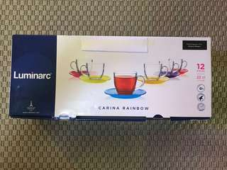 Luminarc 12pc tea set