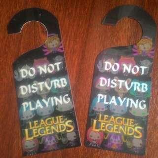 League of Legends doorknob accessory