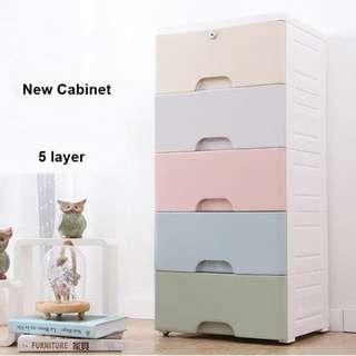 5 Layer Cabinet Macaron