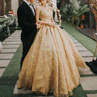 Princess Wedding Gown dress for lease