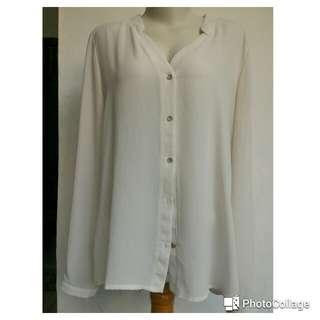 Broken white shirt