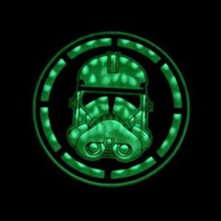 storm trooper patches glow in the dark