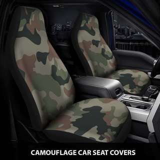 Camouflage Car Seat Covers