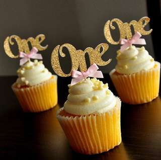 Cupcake toppers ONE