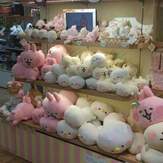 日本梅田限定 軟棉棉 Kanahei 粉紅兔兔