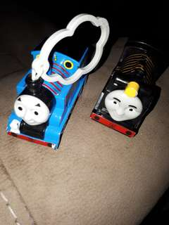 Thomas the train whistle and pen holder