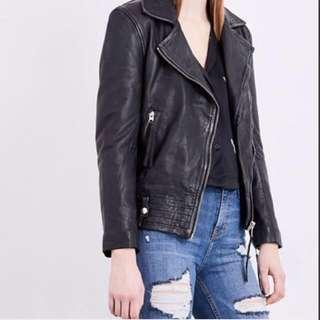 Topshop Jagger Leather Jacket