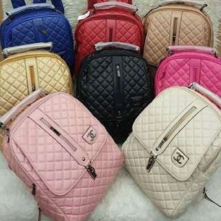 Ransel Chanel Bordir Classic Import