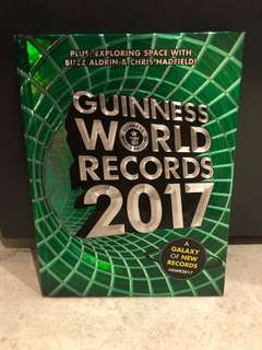 Guinness World Records Book 2017