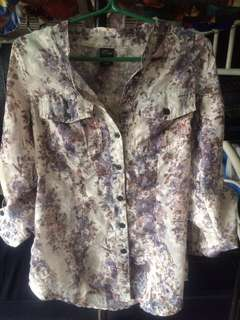 Long sleeve floral for women
