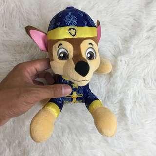 [BN] Paw Patrol CNY 2018 Chase soft toy Plush toy