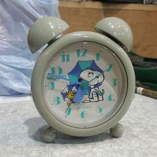 星晨Citizen Snoopy鬧鐘