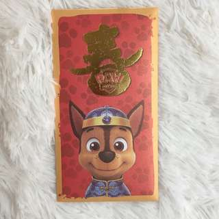 [BN] Premium Paw Patrol Angbao set Red packets