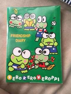 Kerokerokeroppi Friendship Diary