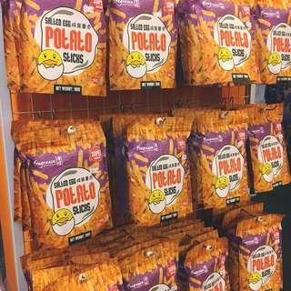 新加坡品牌香味有推出鹹蛋薯條,代購中