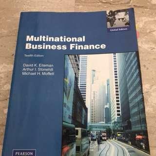 Textbook - Multinational Business Finance