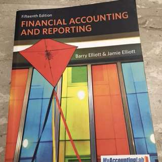 Textbook - Financial Accounting and Reporting