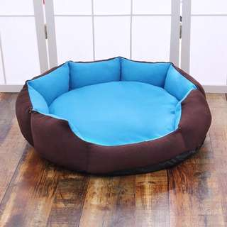 #PayDay30 Round Dog Bed in Solid Colours V8