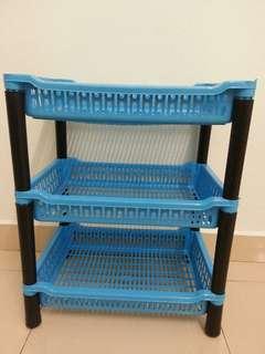 3-Tier Storage Rack/Rak Simpanan