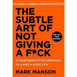 (E-book) The Subtle Art of Not Giving a F*ck