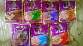 Whiskas pouch adult and junior