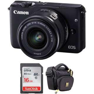 Canon EOS M10 Cicilan Mudah Sekitar 3 Menit